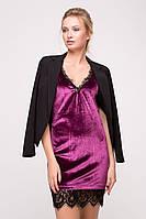 Костюм с бархатным платьем SEMI+BLIK