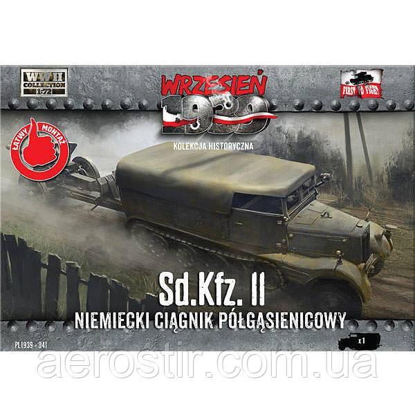 Sd.Kfz.11 German Half Tractor 1/72 WRZESIEN 1939 FTF041