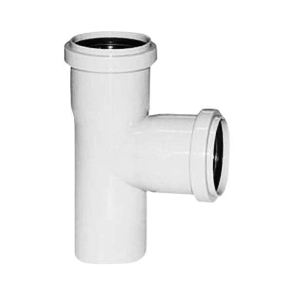 Тройник для внутренней канализации, д. 32х32х90