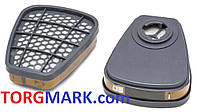 Комбинированный фильтр (аналог) 3M 6051 от газов и паров марки А1 (2шт.)