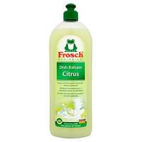 Жидкость - бальзам для мытья посуды Frosch Dish Balsam Citrus 0.750 мл.