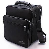 Мужская сумка через плечо Барсетка деловая 26х29х18см