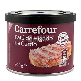 Паштет Carrefour higado Каррефоур Хигадо de cerdo 200г