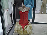 Корсет красный Warssawa