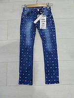 Детские котоновые брюки для девочек GRACE