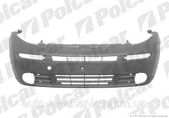 Бампер передний на Opel Vivaro  2001->2006 (под противотуманки)  —  Polcar (Польша) - 602607-4