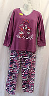 Пижама женская,комплект I LOVE FLOWERS,купить пижаму оптом со склада.PV 10 PJ -4000