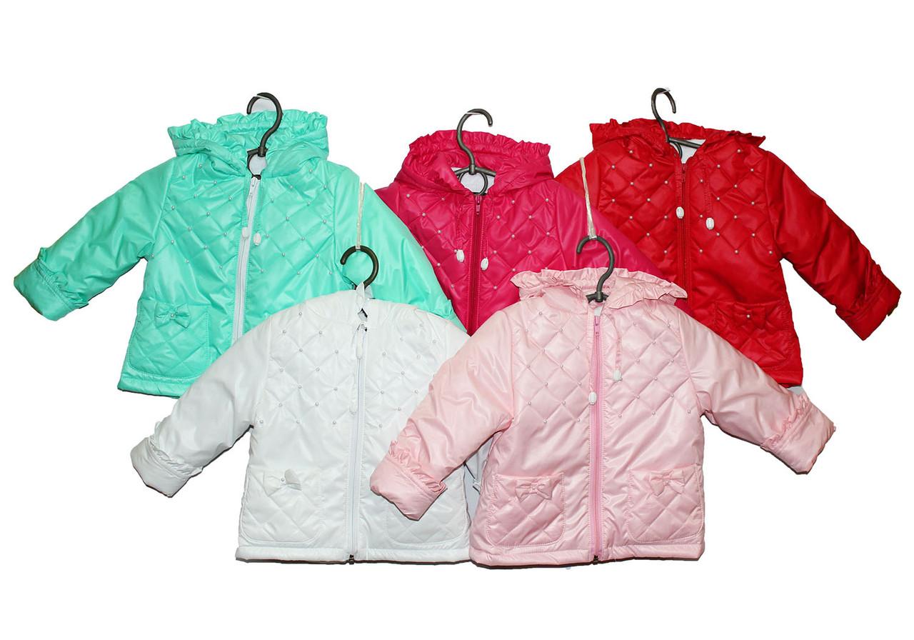 Курточка детская на весну для девочку.