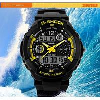 Часы наручные спортивные Skmei 0931 S-SHOCK Yellow