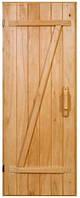"""Двери деревянные для бани """"Крестьянка"""""""