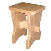 Табурет для бани деревянный