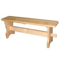 Лавка для бани деревянная