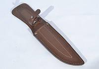 Чехол для ножа №3 кожаный коричневый
