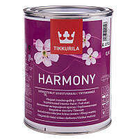 Стойкая к мытью совершенно матовая краска для стен и потолков   Harmony Tikkurila  база А, 0.9л