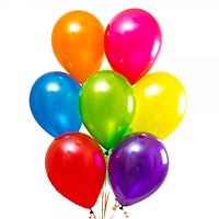 Шар латексный  с гелием  30 см Цвета в ассортименте Gemar Ballons (Италия)