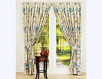 Комплект штор в стиле Прованс Olivia Blue, арт. MG-130001
