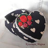 Подарочная коробочка Сердечко (ручная работа)