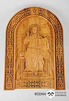 Икона из дерева,эксклюзивный подарок,рельефная икона