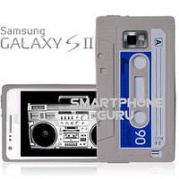 Силиконовый чехол кассета для Samsung Galaxy S2 i9100