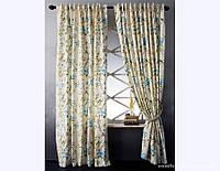 Комплект штор Прованс из водоотталкивающей ткани Mishel Blue, арт. MG-118002