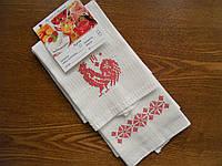Набор кухонных полотенец с красным петушком