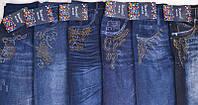 Лосины под джинс с стразами