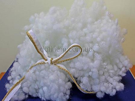 Наполнитель для подушек, игрушек Шариковый Холлофайбер 1000г, фото 2