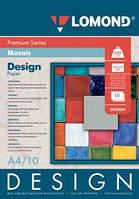 Односторонняя глянцевая дизайнерская фотобумага Мозаика, A4, 230 г/м.кв, 10 листов