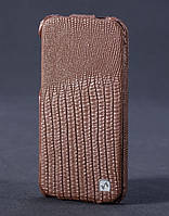 Lizard flip leather case for iPhone 5C