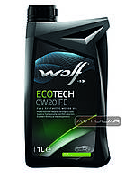 Синтетическое масло WOLF ECOTECH 0W20 FE