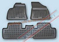 Коврики в салон из мягкого полиуретана Rezaw Plast  для Peugeot 3008 2009-2014 3шт (1 цельный) 2010