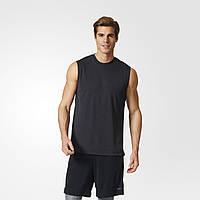 Мужская майка для тренировок Adidas Climachill BQ2322 черная