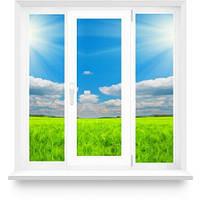 Металлопластиковое окно с одной створкой в 16-ти этажный дом