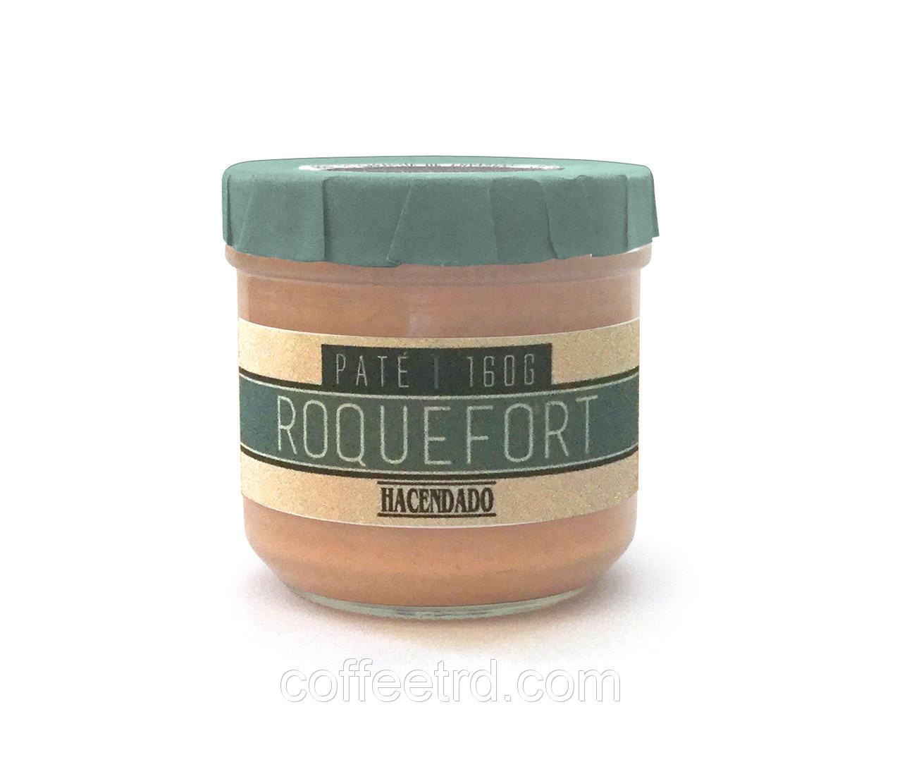 Hacendado Pate Roquefort Хакендадо пате покфорт паштет с сыром рокфор , 160г.