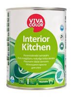 Краска для стен моющаяся Interior Kitchen Vivacolor  полуматовая  А 0,9 л