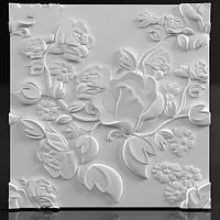 """Декоративные гипсовые 3D панели для стен  """"Spring"""""""