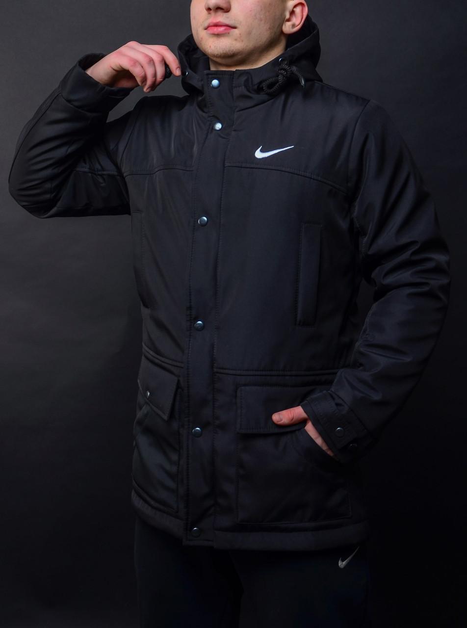 d503e8ee6059 Парка демисезонная, куртка мужская, весенняя, осенняя , до - 5 градусов,  черный