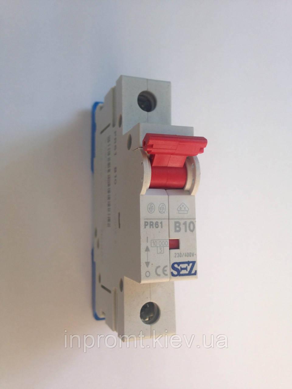 Автоматический выключатель PR61В10