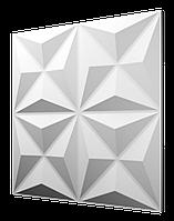 """Декоративные гипсовые 3D панели для стен  """"Оригами"""""""