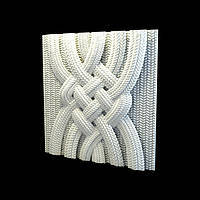 Материал для отделки стен 3д стеновые панели «Uzel»