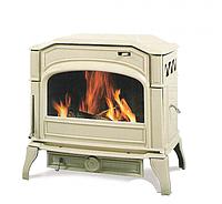 Чугунная мульти печь Dovre 750 GM/E8 бежевая эмаль- 9 кВт, фото 1