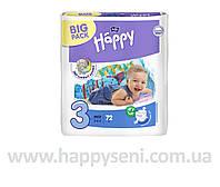 Подгузники Bella Baby HAPPY MIDI (3) 72шт.