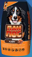 Пан-Пес Лайт 10 кг-корм для собак склонных с полноте