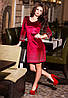 Женское платье велюр стразы 496 КВ