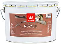 Краска фасадная  силиконмодифицированная   Novasil Tikkurila 9 л.