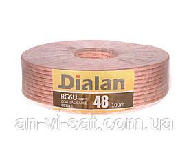 Кабель коаксиальный Dialan 48 (100м) в силиконе
