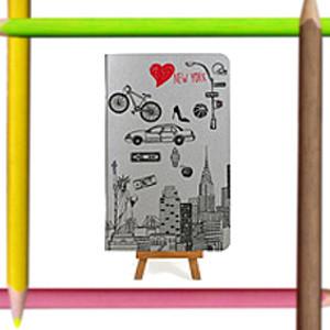 Красивые и необычные тетради с прикольными дизайнерскими рисунками и принтами
