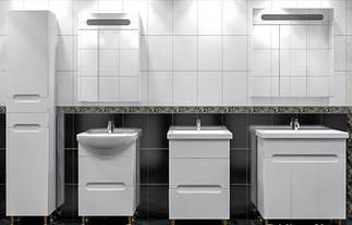 Бьянка Белая мебель в ванную комнату ТМ ЛЕОС