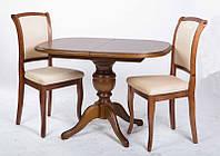 Деревянный обеденный стол Триумф, цвет рустикаль