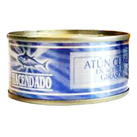 HACENDADO, Хакенадо Тунец в масле, 80Г